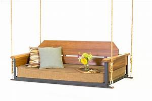 The Cottage Teak Bed Swing - The Porch CompanyThe Porch