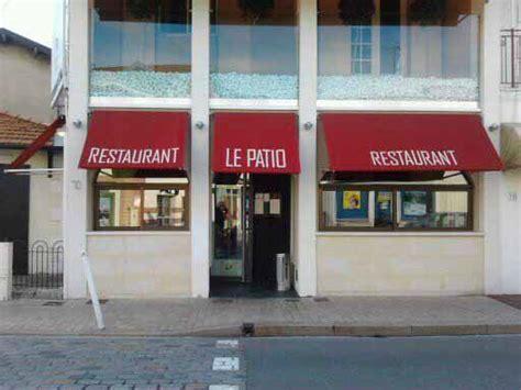 le patio restaurant arcachon thierry renou