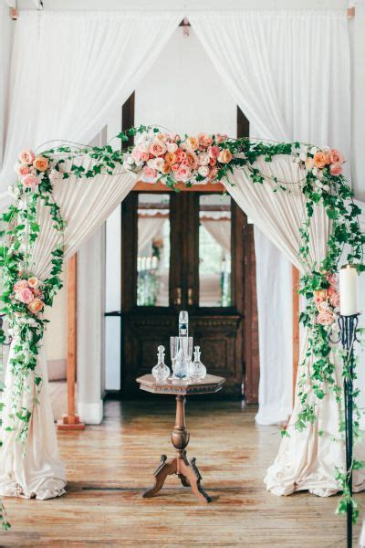 35 Dreamy Indoor Wedding Ceremony Backdrops Lush wedding