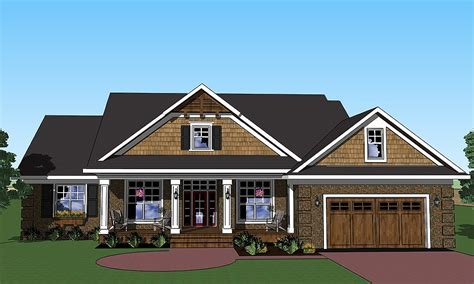 House Plans With Screened Porches by Vaulted Great Room And Screened Porch 14569rk