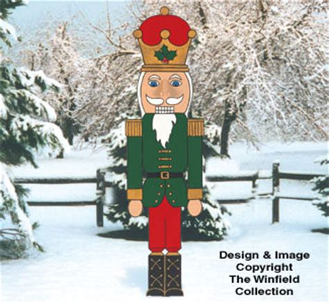 christmas giant nutcracker woodcrafting pattern