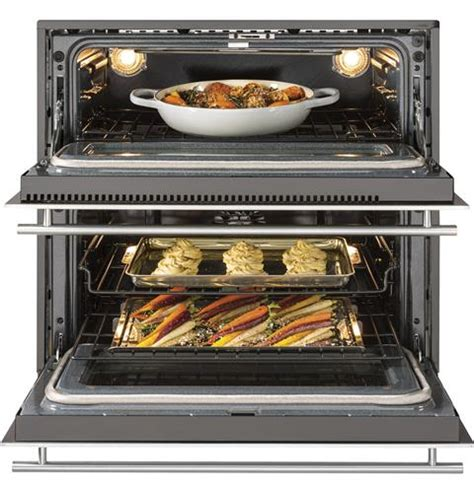 monogram  built  singledouble convection wall oven zetdjss ge appliances