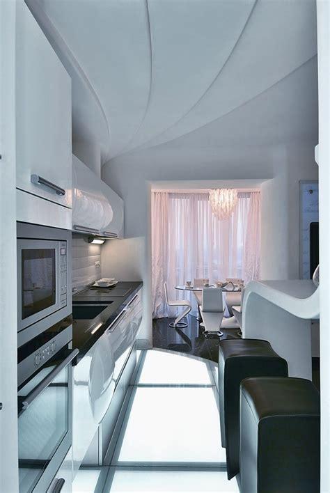 Futuristic Apartment Interior That Reminds A Salt Cave