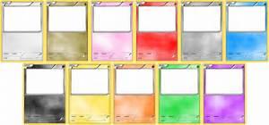 Pokemon blank card templates