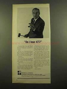 1965 Merrill Lynch Ad - Do I hear 47 1/8