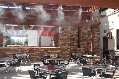 restaurant cooling misting pros