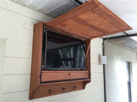 outdoor stereo cabinet ideas here are our plans for an outdoor tv cabinet we built for