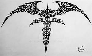 10+ Tribal Vampire Tattoo Designs