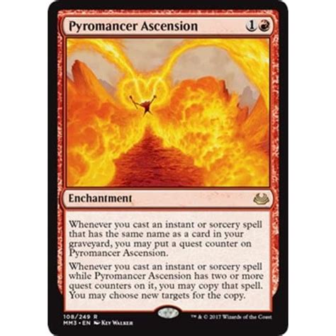 Magic Pyromancer Deck by Pyromancer Ascension Magic The Gathering From Magic