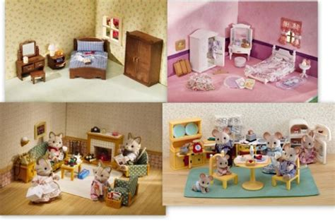 calico critters bedroom set offer calico critters 4 furniture sets lavender master
