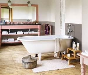 26 couleurs peinture salle de bain pleines d39idees deco cool With salle de bain couleur lin