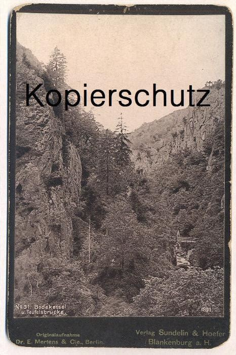 Dr Mertens Berlin by Altes Kabinettfoto Cdv Photo Bodekessel Und Teufelsbr 220 Cke
