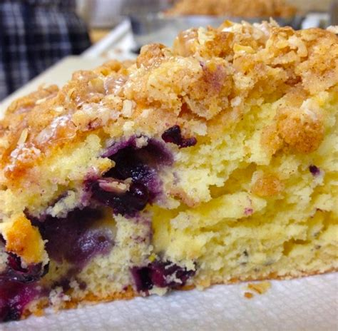 And only 2 tablespoons of butter makes it even better! Delicious Blueberry Coffee Cake Recipe - Maria's Kitchen
