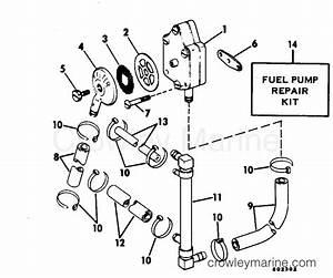 fuel pump 1982 evinrude outboards 140 e140mlcnb With diagram evinrude gas tank parts johnson outboard fuel pump diagram
