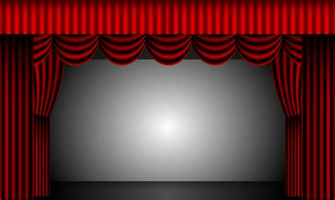 Theatre Drape by Theatre Curtains Free Stock Photo Domain Pictures