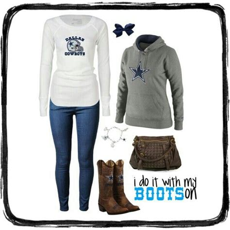 10 best images about Cute outfits to wear to sporting events on Pinterest | Football Cowboy ...