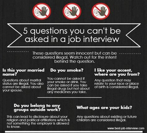 good questions to ask during a job interview illegal interview questions what can 39 t be asked