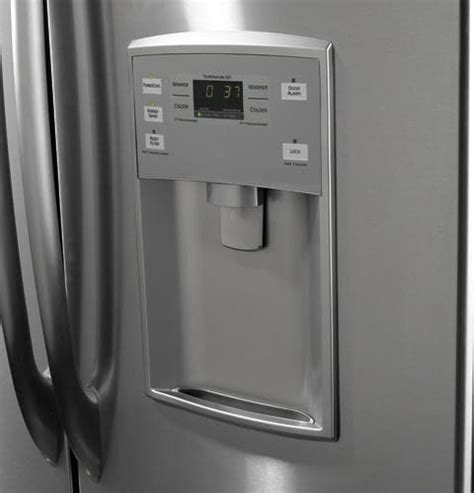 ge pfsspjy  cu ft bottom drawer freezer refrigerator  french doors  adjustable
