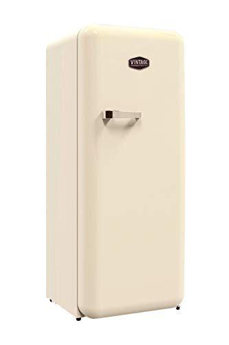 vintage industries retro k 252 hlschrank havanna in creme beige 50er jahre look gr 246 223 e 152 5 cm