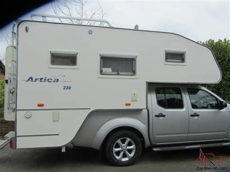 camper nissan navara truck pick campers pickup american berth unused camping source 4x4 toyota