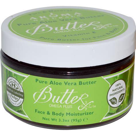 aloe vera blätter aroma naturals aloe vera butter moisturizer 3 3 oz 95 g iherb