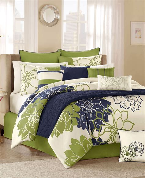 lola green comforter set bedroom home bedroom