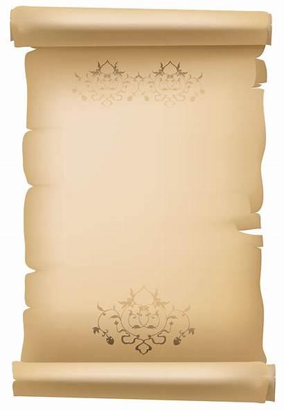 Scroll Paper Clipart Decorative Scrolls Border Pergaminhos