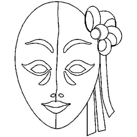 Masque  Coloriage Masque En Ligne Gratuit A Imprimer Sur