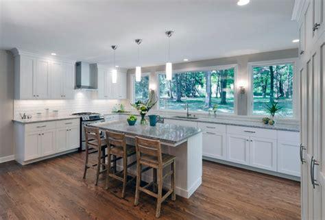bungalow kitchen renovation transitional kitchen