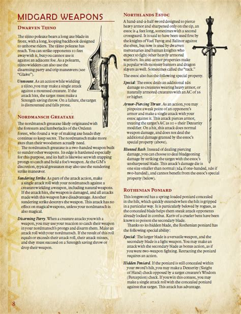 Each weapon, spell, and harmful monster ability specifies the damage it deals. Damage Estimate Dnd 5E - Falling Damage for Dungeons ...