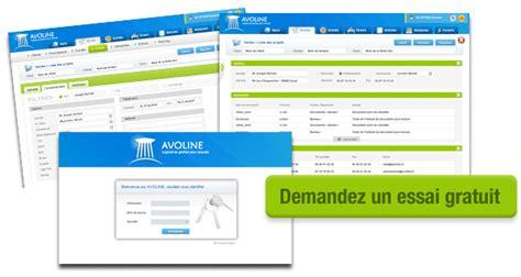 logiciel gestion cabinet avocat avoline