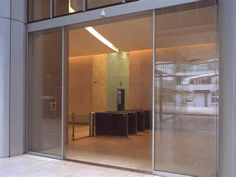 Sliding Entrance Doors by Oversized Linear Sliding Glass Doors 3 Meters High By