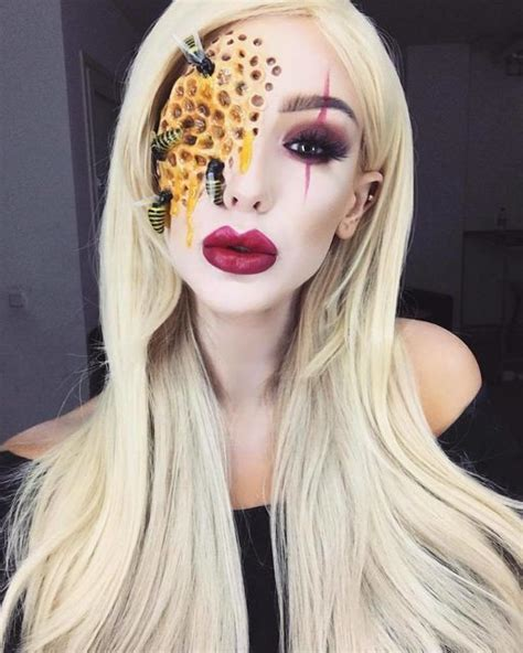 american horror story makeup  give