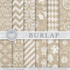 burlap digital paper white burlap patterns printable pattern