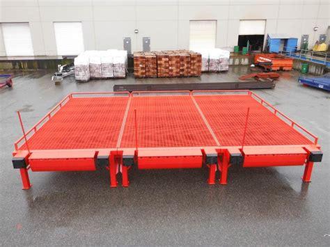 custom loading ramps forklift docks professionally