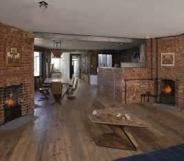 exposed brick walls meet sustainable modern design