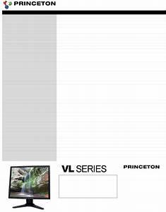 Princeton Flat Panel Television Vl1919 User Guide