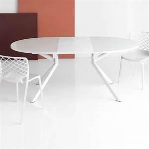 Table De Cuisine Ovale : table ovale extensible en verre giove connubia 4 ~ Teatrodelosmanantiales.com Idées de Décoration