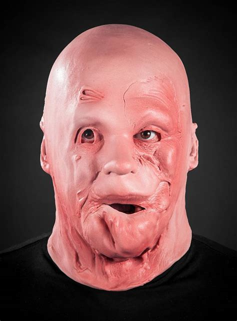 burn scars foam latex mask maskworldcom