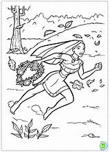 Cliff Pages Coloring Pocahontas Disney Template sketch template