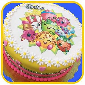 Shopkins Cake – The Office Cake