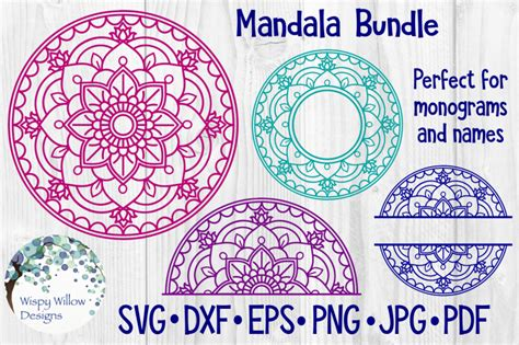 Thousands of unique mandala svg free file designs for all your project needs. Free Mandala SVG Bundle Crafter File