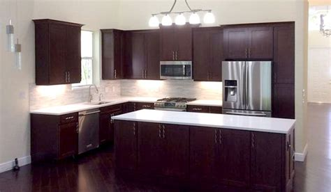 wood island tops kitchens palm florida kitchen with cherry cabinets