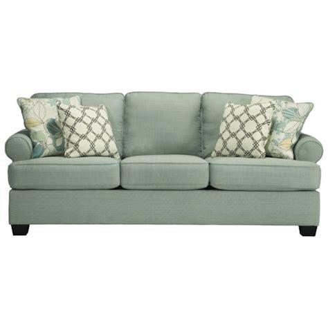ashley signature design daystar seafoam  sofa