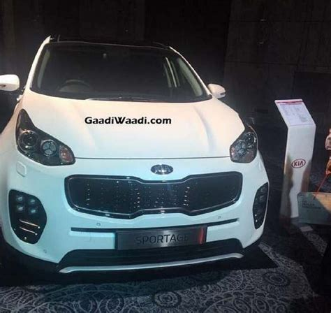 kia sportage suv india launch price engine specs