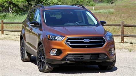 2018 Ford Escape Interior And Exterior