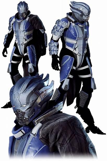 Mass Effect Anthem Armor Halloween Event Asari