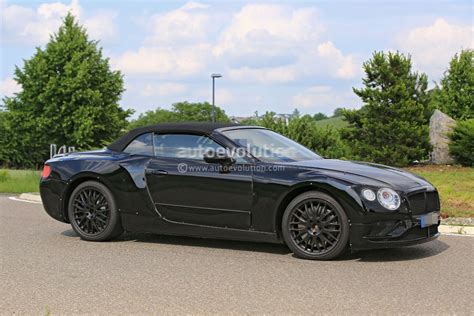 2018 Bentley Continental Gt Convertible Looks Sleek In