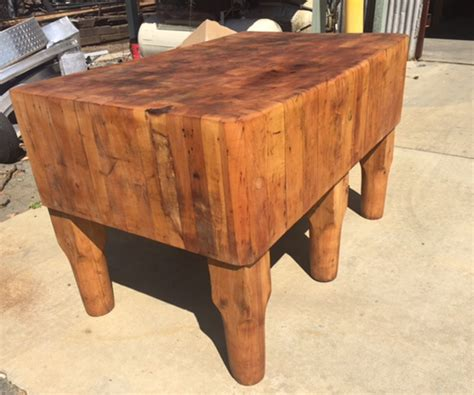 Home  Antique Butcher Blocks