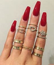 Best Red Nail Designs Ideas And Images On Bing Find What You Ll Love